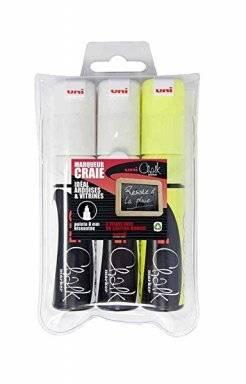 Chalk marker set PWE8K/3 ASSF17 | Uni