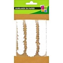 Guirlande papierlint wolk 518161