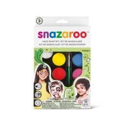 snazaroo face paint kit unisex 1180102