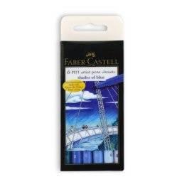 Pitt artistpenset shades of blue | Faber castell