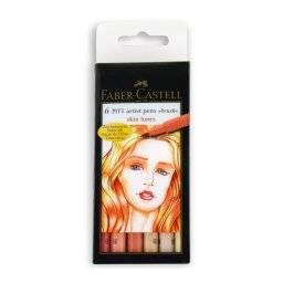 Pitt artist penset skin tones | Faber castell