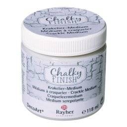 Chalky finish crackle medium 878 | Rayher