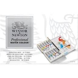 Artist aquarelset 10 tubes 0604   Winsor & newton