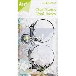 Clearstamp floral frames 0344 | Joy