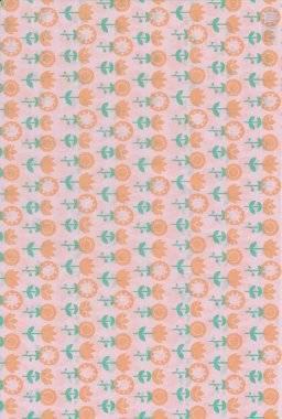 Gluepatch papier 641044 bloemen