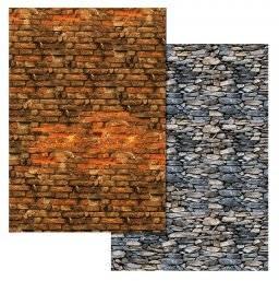 Variokarton 308.620 steen/muur