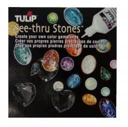 See-thru stones harten | Tulip