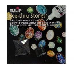 See-thru stones vierkant assorti | Tulip