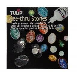 See-thru stones strass ovaal | Tulip