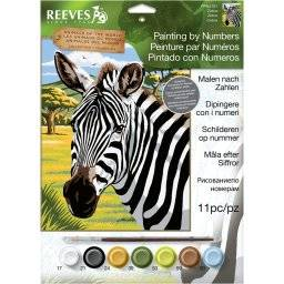 Schilderen nr ppnj210/101 zebra   Reeves