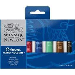 Cotman aquarelset 6 tubes -0635 | Winsor & newton