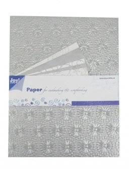 Papierset zilver 6012/0026 | Joy