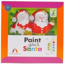 Paint your santa set | Angel malma