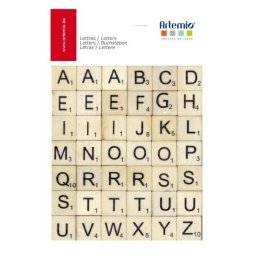 Houten scrabble letters 11060303 | Artemio