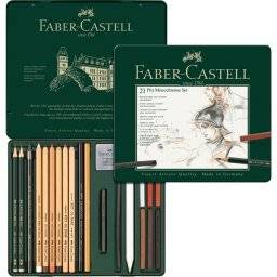 21 pitt monochrome set 112976   Faber castell