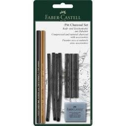 Pitt charcoal set 112996 | Faber castell