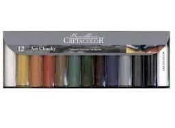 Chunky art houtskool set 12st | Cretacolor