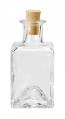 Glazen fles met kurk 8604.907   Hobby time