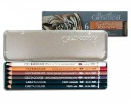 Oil pencil set blik 6st 400-07 | Cretacolor