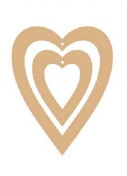 Mdf harten 2 stuks 427.004 | Pronty