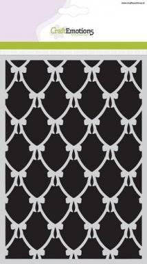 Sjabloon 1115 ornament strik | Craftemotions