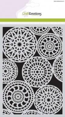 Sjabloon 1119 fantasy cirkels | Craftemotions