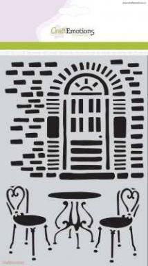 Sjabloon 1092 bistroset | Craftemotions