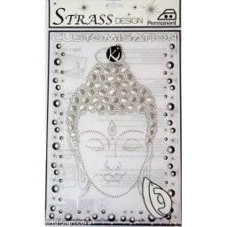 Strass stransfer MOSM035 budha | Ki sign