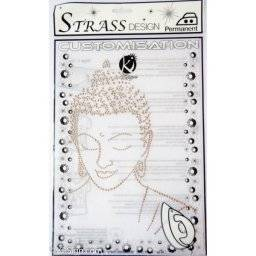 Strass stransfer MOSM036 budha | Ki sign