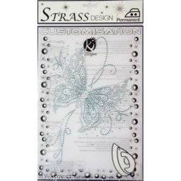 Strass stransfer MOSM033 vlinder | Ki sign