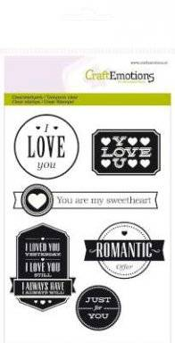 Clearstamps 1123 love lyrics | Craftemotions