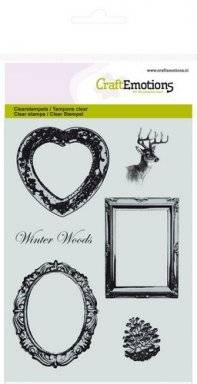 Clearstamps 1042 winter frames | Craftemotions