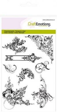 Clearstamps 1142 ornaments   Craftemotions