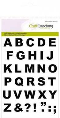 Clearstamps 1136 alphabet basic | Craftemotions
