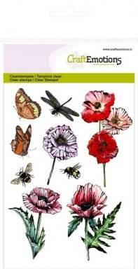 Clearstamps 1233 butterflies   Craftemotions