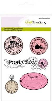 Clearstamps 1066 stamps labels | Craftemotions