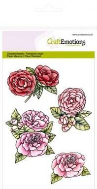Clearstamps 1065 roses | Craftemotions