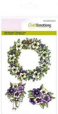 Clearstamps 1055 garland | Craftemotions