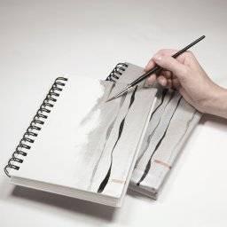 reeves beschilderbaar tekenboek A4