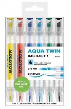 Aqua twinmarker set basic 1 | Molotow