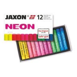 Oliepastels set 12st neon   Jaxon