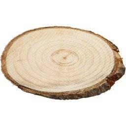 Boomschijf schors ovaal 24-26 cm