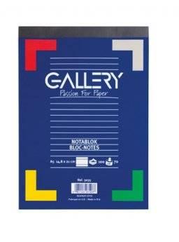 Schrijfblok lijntjes 100vel | Gallery