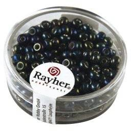 Rocailles zilver-rainbow 14-383 | Rayher