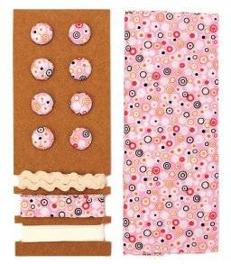Lili rose textielset 8619.618   Hobby time