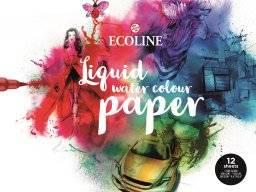 Ecoline papier blok 24x32 300gr | Talens