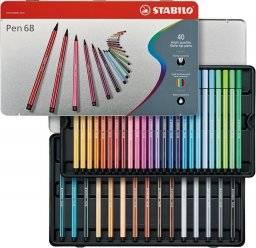 Pen 68 blik 40 kleuren   Stabilo
