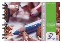 Van gogh schetsblok 29.7x42cm | Talens