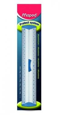 Alu liniaal grip 20cm 120120   Maped