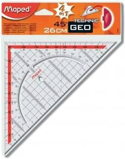 Geodriehoek grip 26cm 028700 | Maped